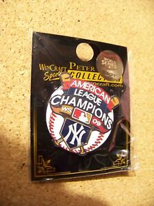2009 NY New York Yankees AL American League Champions pin MLB