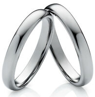 Eheringe  Verlobungsringe Partnerringe aus Wolfram mit Ringe Lasergravur W735