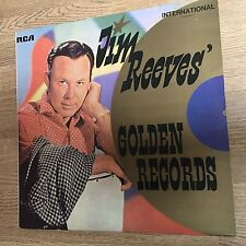 LP 33 tours Hollande Jim Reeves Golden records compilation country