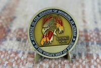 USAF Military Brass Challenge Coin U.S Air Force 1947 Aerospace Power