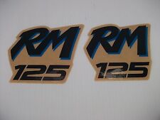 RM125 DECAL GRAPHICS 89 - 92 1989 MODEL CORRECT AND COLORS