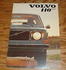 Original 1971 Volvo 140 Series Deluxe Sales Brochure 71 142 144 145