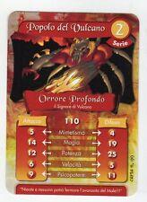 figurina - CARD GORMITI - SERIE 2 ORRORE PROFONDO