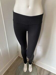 Alo Black High Waist Yoga Legging Size XS