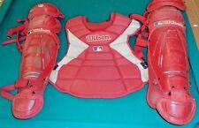 Wilson Baseball Catcher's Gear Set See Description For Measurements
