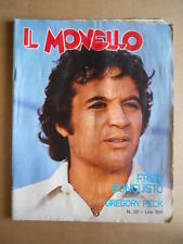 MONELLO n°32 1976 Fred Bongusto Gregory Peck Angel Nieto [G552]
