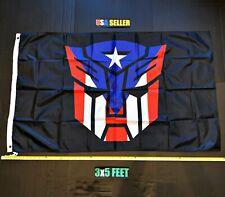 New listing Transformers Usa Flag Free First Class Ship Spiderman Batman Superman Joker Sign