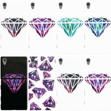 DYEFOR NEBULA DIAMOND COLLECTION PHONE CASE COVER FOR SONY XPERIA