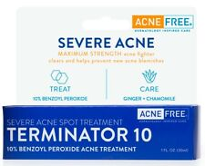 AcneFree Terminator 10 Acne Spot Treatment with 10% Benzoyl Peroxide