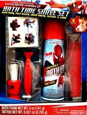 Spider-Man Homecoming Marvel Kid Bath Time Toy Play Shave Kit 5 Piece Set