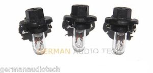 3x PORSCHE LIGHT BULBS LAMPS DASH INSTRUMENT CLUSTER 996 986 BOXSTER CARRERA 911
