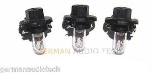 3x PORSCHE LIGHT BULBS LAMPS DASH INSTRUMENT CLUSTER 996 986 BOXSTER CARRERA 911