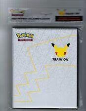 Pokemon 25th Anniversary First Partner Collector's Binder SEALED w/Pikachu