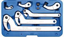 BGS Gelenk Hakenschlüssel Kreuzlochmuttern Zapfen Nutmuttern Schlüssel Werkzeug