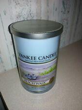 Yankee Candle Beach Walk 2-Wick Large Tumbler Jar Candle, 22oz