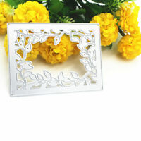 Lace Frame Cutting Dies Stencil Scrapbooking Card Embossing Craft DIY