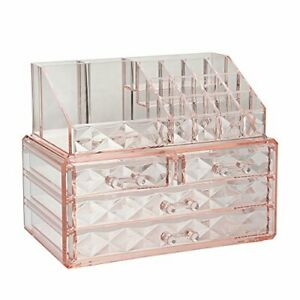 Jewelry and Cosmetic Boxes with Brush Holder Easily to Use Widely Use Design New