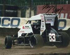 Karsyn Elledge autographed USAC Midget 8x10 photo
