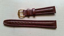 band /bracelet Hirsch 16mm (mozart)  marron   etat neuf