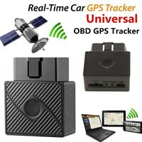OBD2 GPS Tracker Real Time Vehicle Tracking Device OBD II  Car Truck Locator