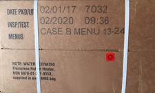 Military MRE 2020 Inspection B Case