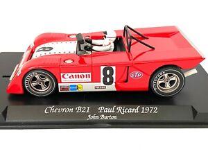 1:32 scale Fly Slot Car Chevron B21 Race Car - John Burton 1972 Fully Working