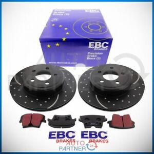 EBC Pour Chrysler 300C Dodge Ø320mm Turbo Groove Disques Revêtements Essieu
