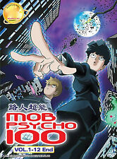 Anime DVD: Mob Psycho 100 (TV 1-12 End)_ENG AUDIO & Sub_R0_FREE SHIPPING