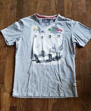 Diesel brand Tshirt Grey Men S/M italy CORPORATE P.A.R.A.D.E Amplified Pleasure