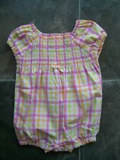 BNWNT Baby Girl's Gymboree Cotton Romper/One-Piece Size 000