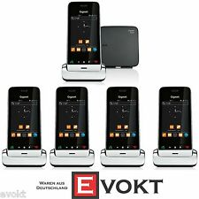 Siemens Gigaset System 1x SL930A + 4x SL930H DECT Cordless Phone DECT Office NEW