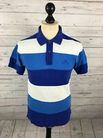 FRED PERRY Polo Shirt - Small - Striped - Great Condition - Men's