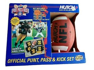 NFL Vintage Gatorade Punt, Pass & Kick Set Play football Junior Size Brand New