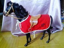 VINTAGE Barbie Pferd für SINDY Puppe -80er Jahre- UNBESPIELTER ZUSTAND + Zubehör