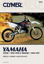 1994 1995 1996 1997 1998 Yamaha YZ250 WR250Z WR250 Clymer Repair Manual M498