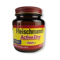 Fleischmann's Original Active Dry Yeast - 4 oz New Sealed Exp 04/2022