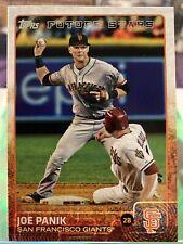 2015 Topps Baseball Joe Panik #503 San Francisco Giants Future Stars
