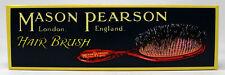 Mason Pearson Pocket Bristle Dark Ruby Hair Brush UNBOXED