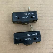 Micro Switch Bz 2rs A2 Plunger Limit Switch Lot Of 2 Free Shipping