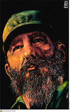 Political Cuban POSTER.Fidel Castro portrait.Communist Revolution Art.Cuba 3