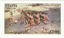 Cinderellas; Staffa, MNH, Apollo 11 Overprint In Red, £2, 1979