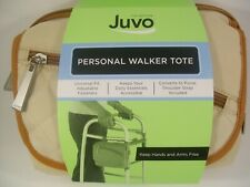 Walker Tote,Juvo,Tan,Zippered Pouches, PERSONAL MOBILITY TOTE