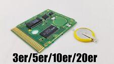 Ersatzbatterie Speicher Nintendo Gameboy Pokemon Zelda CR2025 mit Lötfahnen