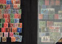 Album de timbres Royaume Uni avec quelques Eire