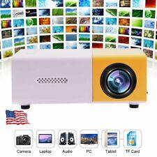 Mini Portable Multimedia LED YG300 Projector HD 1080P Home Theater Cinema New
