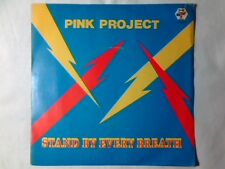 """PINK PROJECT Stand by every breath 7"""" STEFANO PULGA"""