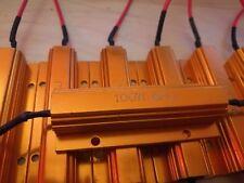 10x Widerstand / Lastwiderstand 100W 6 RJ Ohm  Neu mit Kabelenden