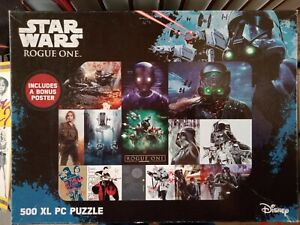 Star Wars Rogue One Jigsaw Puzzle 500 large piece New & Complete
