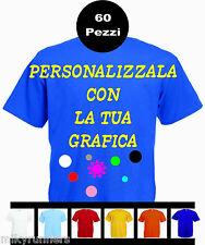60 Magliette T-shirt Royal Personalizzate con le vostre scritte loghi fotoetc.
