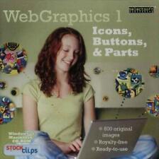 WebGraphics 1 Web Graphics Icons Buttons & Parts PC MAC